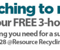 Plastics Recycling Update Magazine: Buzz begins for fall recycling events